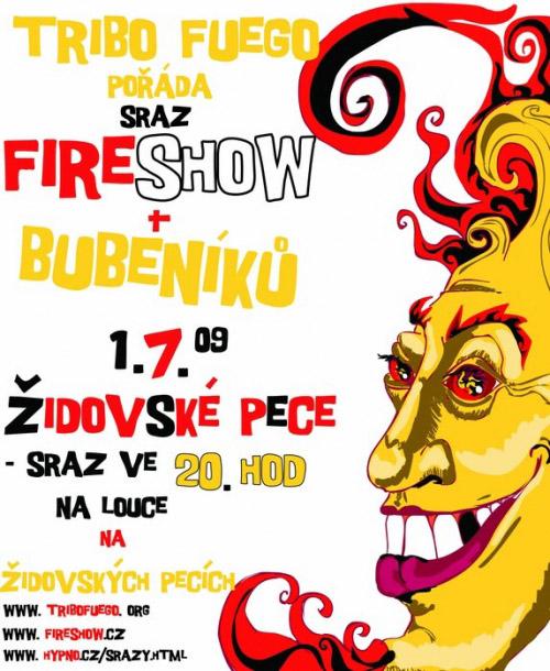 Fireshow sraz 1.7.