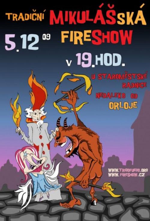 Mikulášská Fireshow