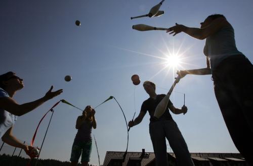 8. Mezinárodní žonglérsko-divadelní dílna ALEJE 20