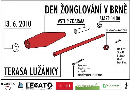 Den žonglování - Brno