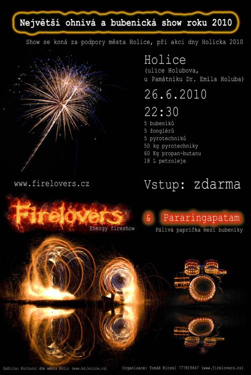 Největší fireshow roku 2010