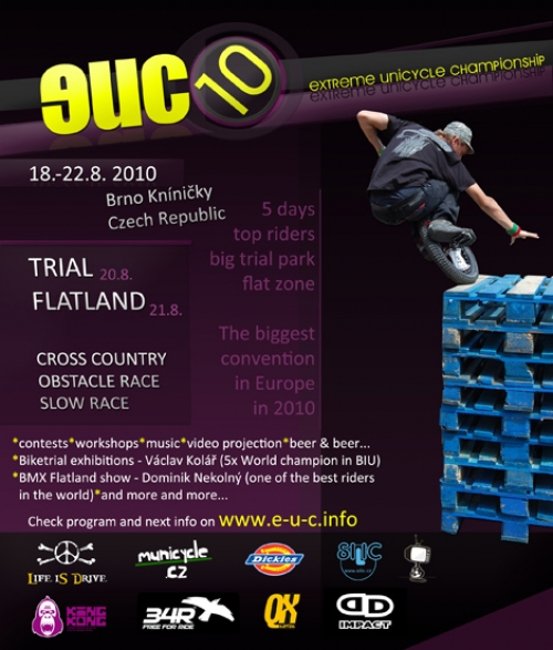 Extreme unicycle championship 2010