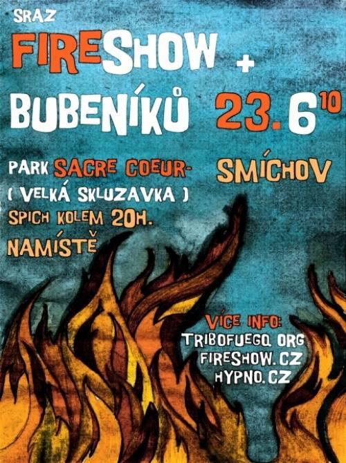 Sraz Fire show
