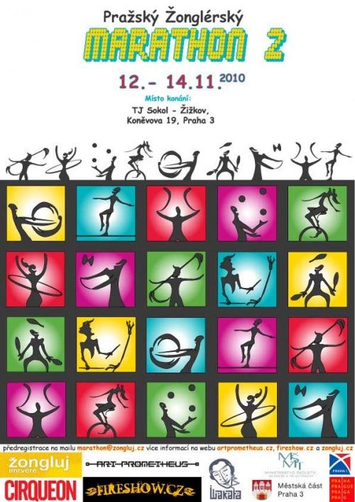 II. pražský žonglérský marathon