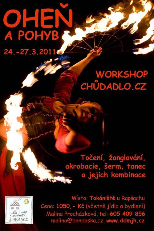 Workshop Oheň a pohyb 2010