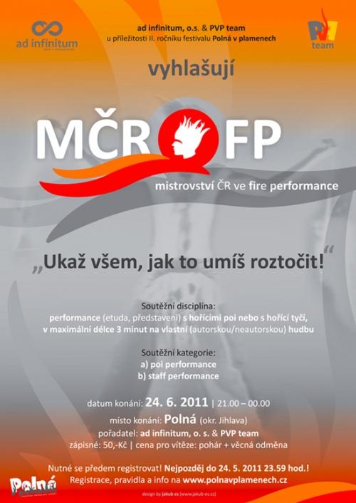 Mistrovství ČR ve Fire performance