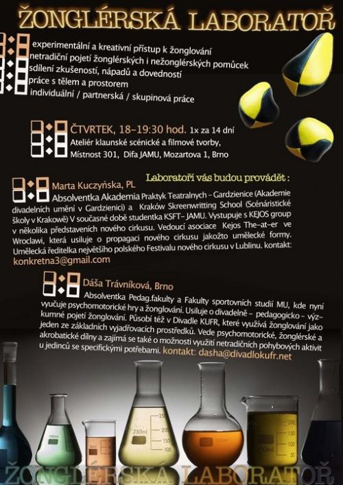 Žonglérská laboratoř