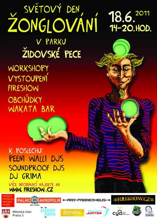 Světový den žonglování Praha