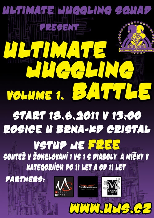 Ultimate Juggling Battle volume 1.