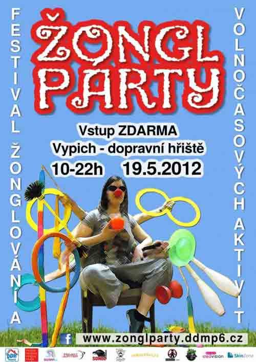 Žongl párty 2012