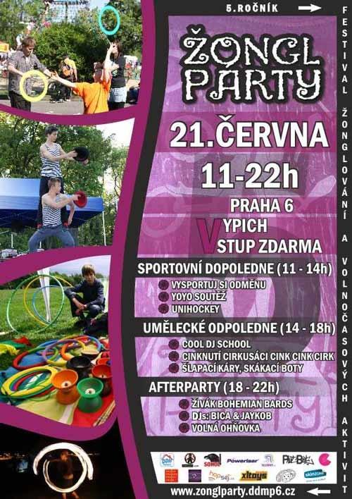 Žongl party 2014
