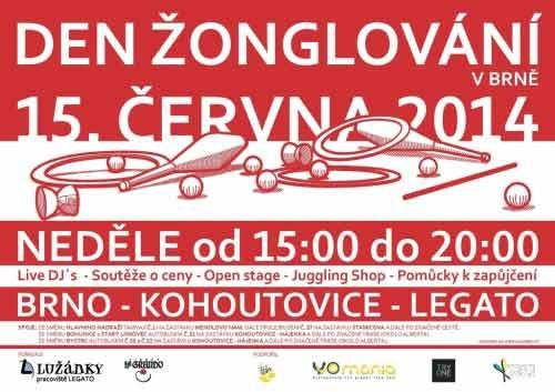 Světový den žonglování v Brně