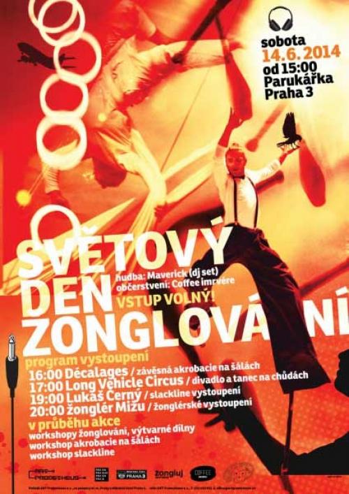 Světový den žonglování v Praze