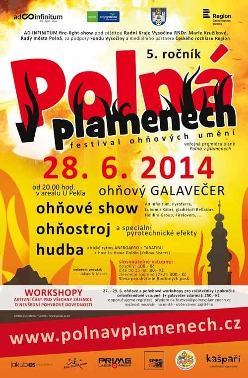 Polná v Plamenech 2014