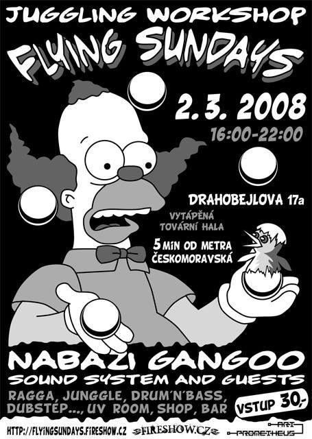 Žonglovací workshop v Praze