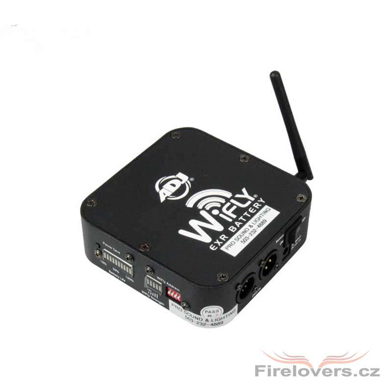 American DJ Wifly EXR Battery Transceiver
