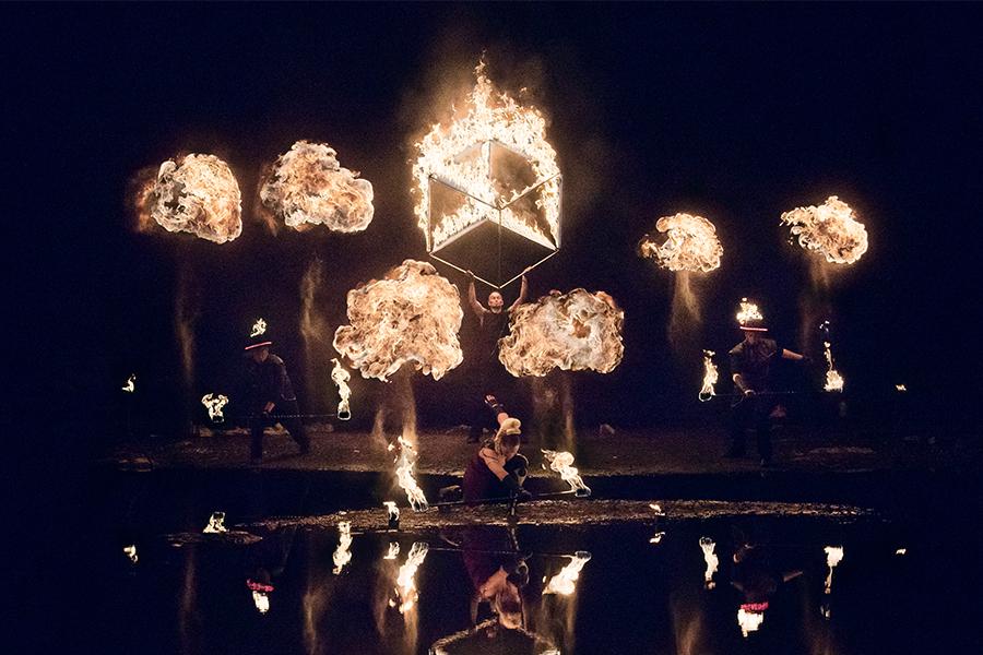 Fireshow Quattro