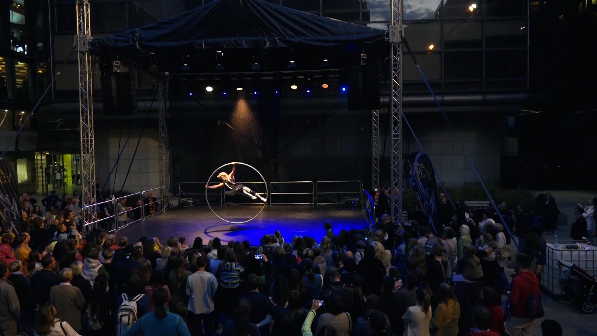 cyrwheel vystoupení